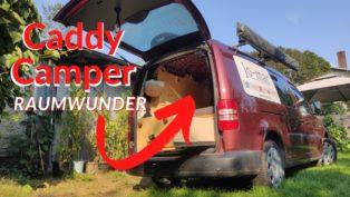 VW Caddy Mini-Camper Ausbau R...