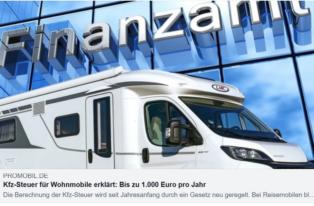 Wohnmobil - neue KFZ-Steuer b...