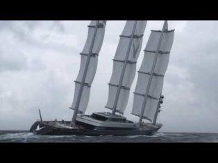 Maltese Falcon superyacht sai...