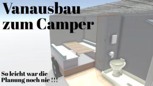 Camperausbau planen | 3D | So...