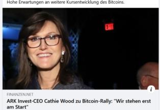 ARK Invest-CEO Cathie Wood zu...