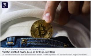 Krypto-Boom an der Deutschen ...