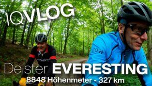 Everesting im Deister: 36x vo...
