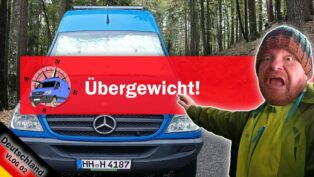 Wohnmobil - 120 kg Übergewich...